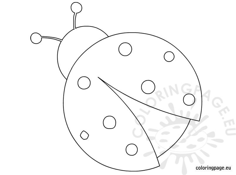 ladybug coloring pages worksheets - photo#16