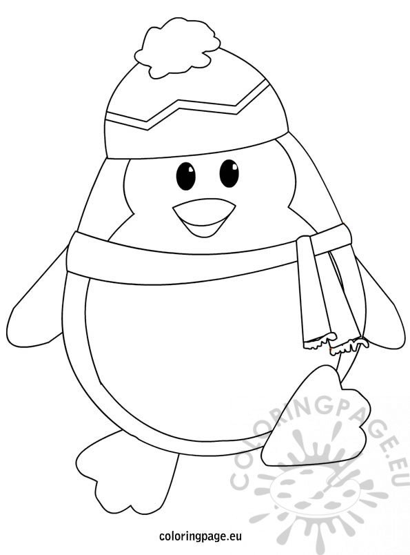 penguins-coloring-page
