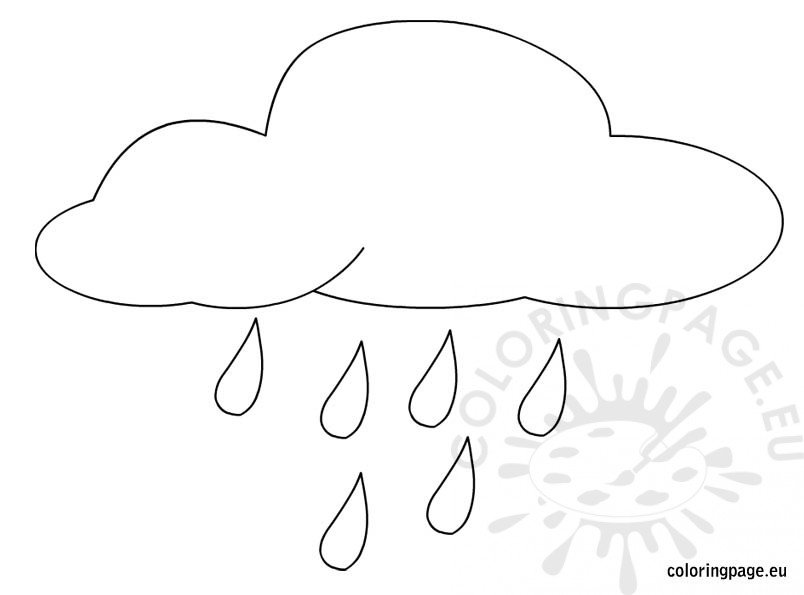 Free Rain Printable Coloring Sheets Further Worksheet In Accounting ...