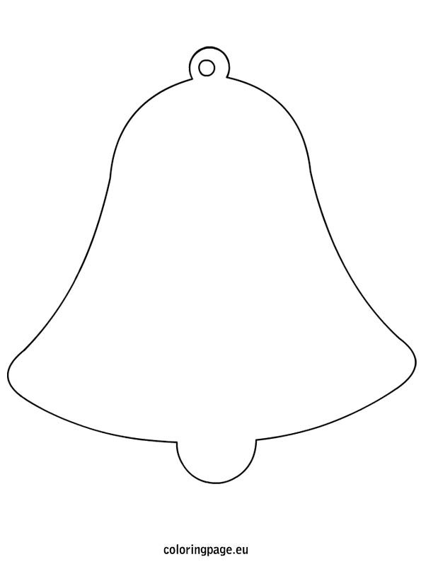 Easter Bell shape Coloring