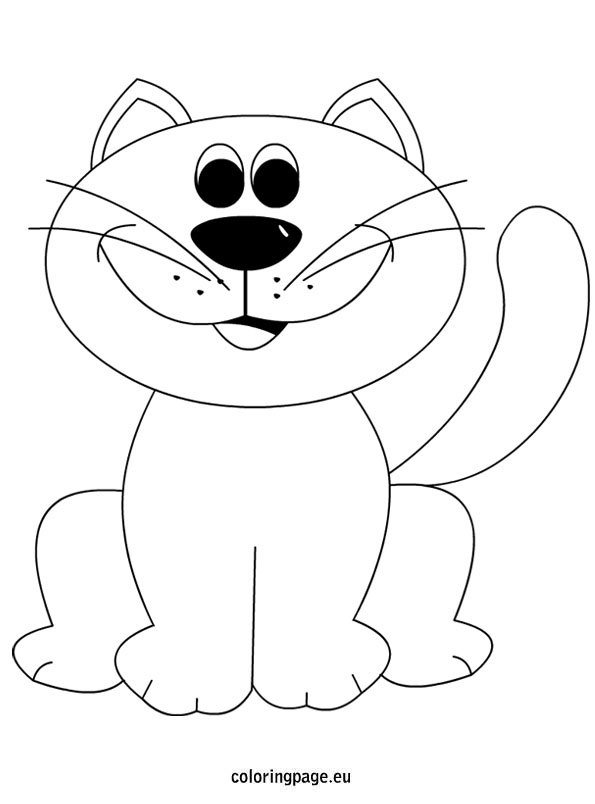 cat-coloring-page