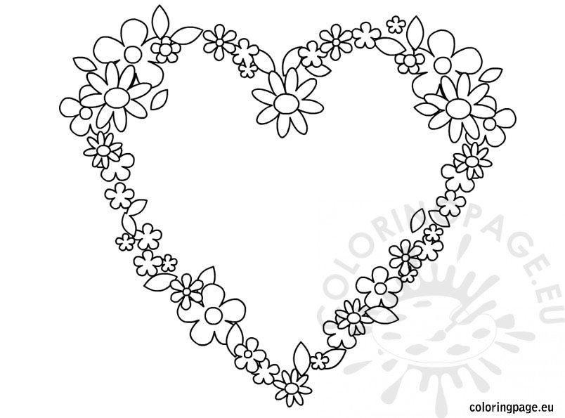 heart-flowers-coloring-page