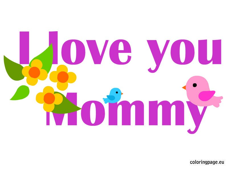 ... Printable together with Mother Clip Art Black And White. on i love you