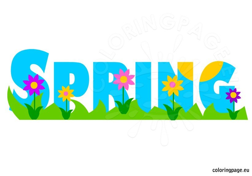 Kids Spring Clipart