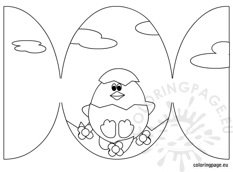 easter-card-coloring-page