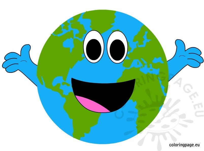 Happy Earth Day | Coloring Page