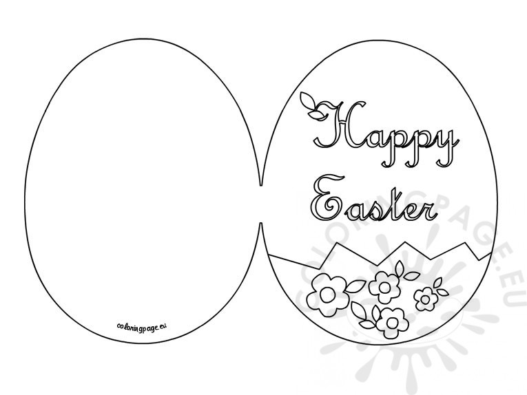 Easter Postcard Template  WowcircleTk