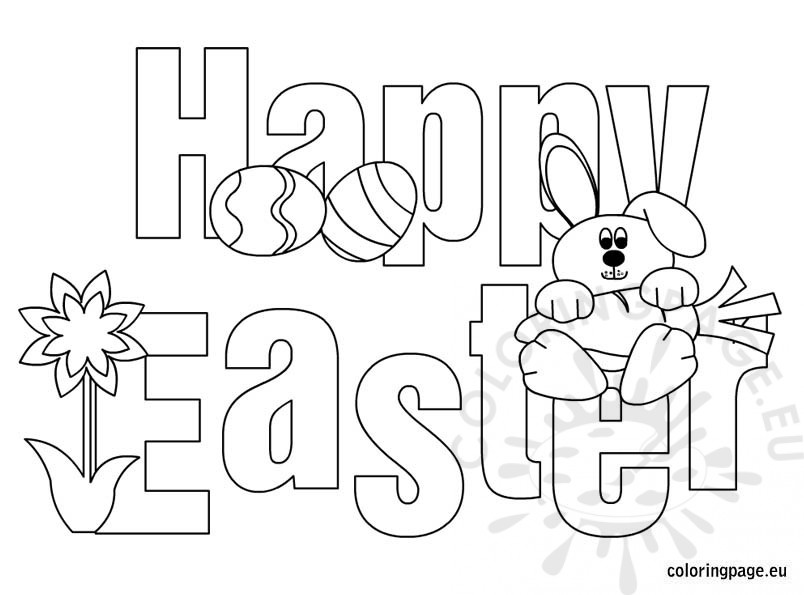happy-easter-coloring