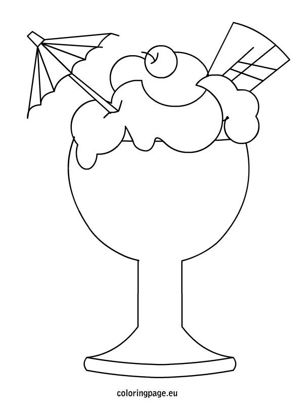 Glass Cup Coloring Page a glass cup coloring page