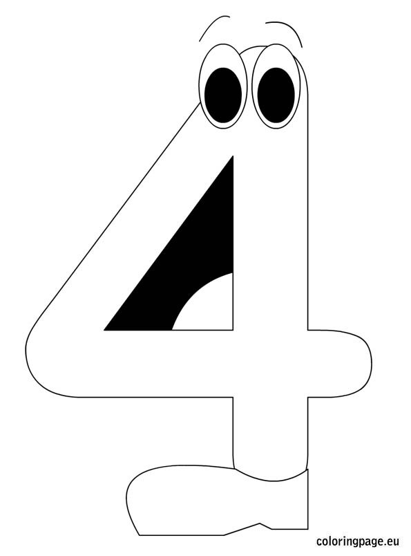 number-four-coloring