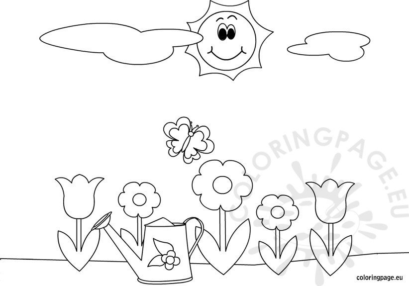 spring-coloring-page-for-kids