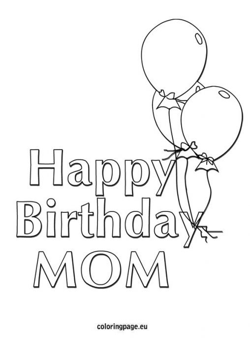 happy 34 birthday coloring pages - photo#4