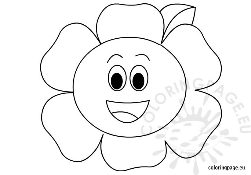 happy-flower-coloring-page