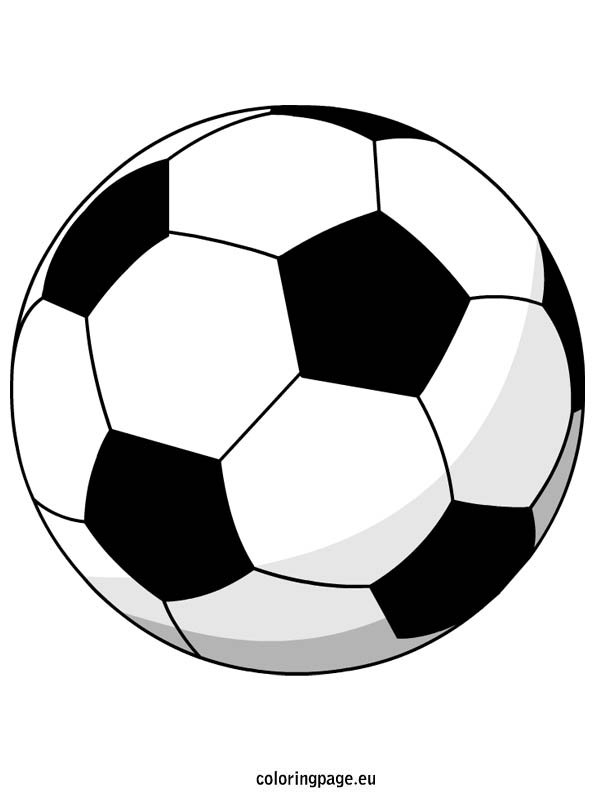 soccer ball coloring page. Black Bedroom Furniture Sets. Home Design Ideas