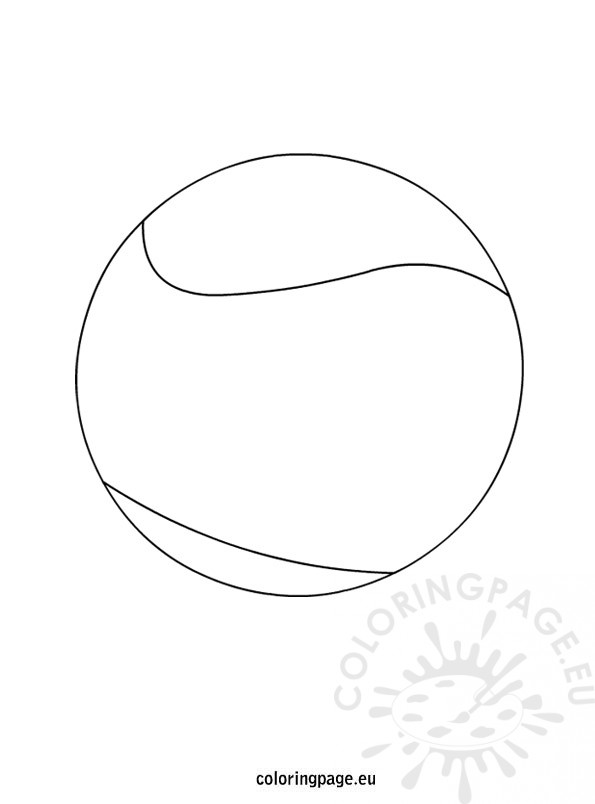 coloring pages of balls - photo#35