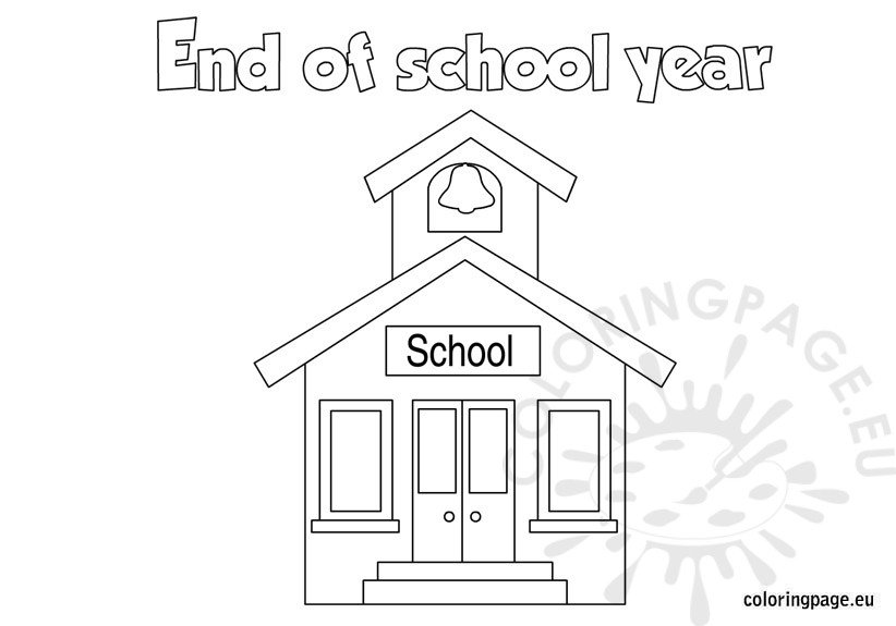 end of school year coloring pages End of the School Year coloring page end of school year coloring pages