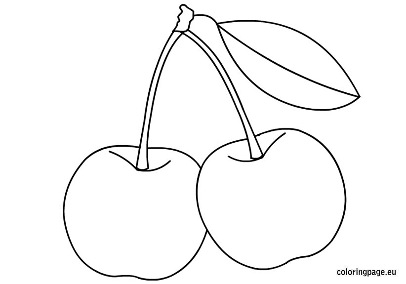 fruit-cherries-coloring-page