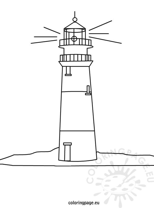 lighthouse-coloring-page