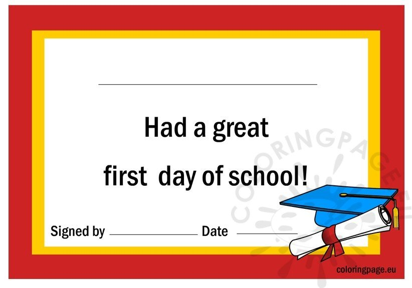 first-day-of-school-certificate
