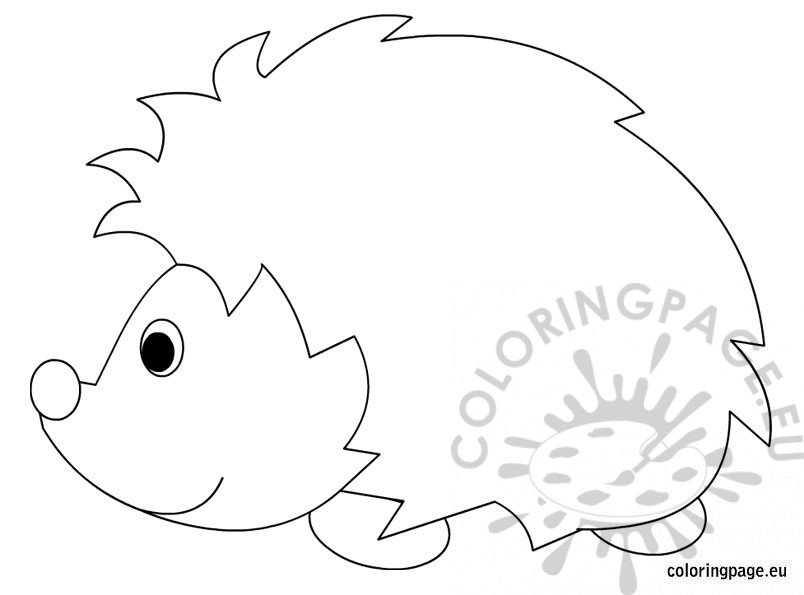 Hedgehog Printable Coloring Pages Coloring Pages Hedgehog