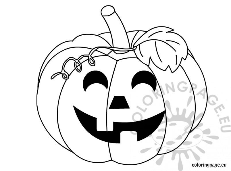 halloween black coloring pages - photo#31