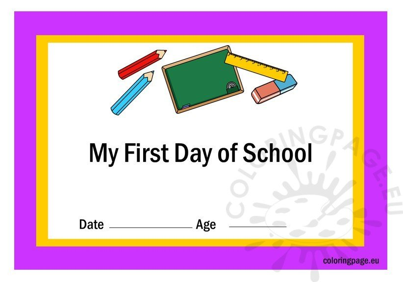 first-day-school-certificate