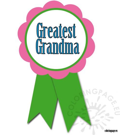 greatest-grandma-rosette