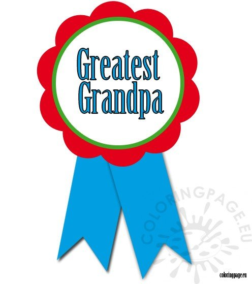greatest-grandpa-rosette-ribbon