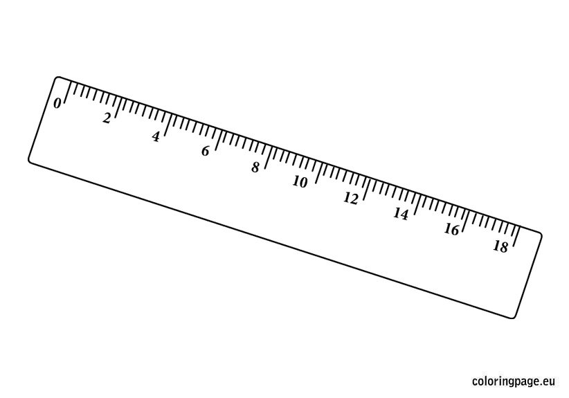 coloring pages ruler - photo#6