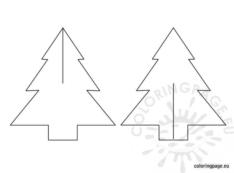 tree templates Colouring Pages