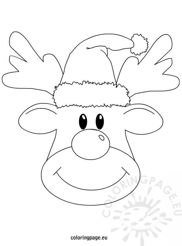 Reindeer Christmas printable