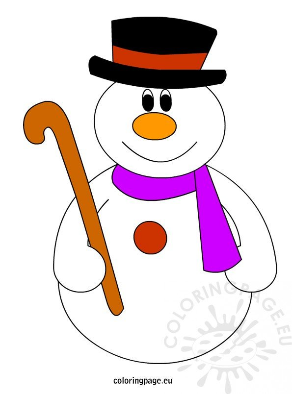 Shocking image within printable snowman pictures