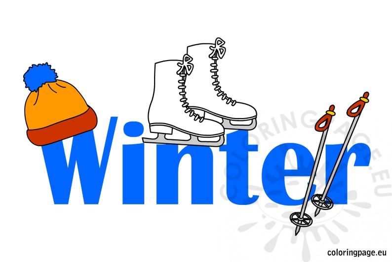 Winter Clipart Illustration