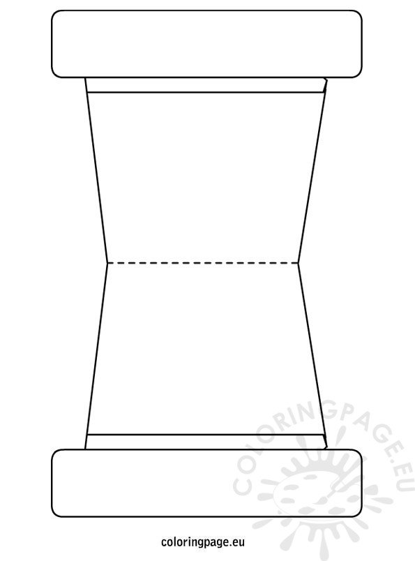 graphic about Flower Pot Template Printable known as Flower Pot Template Coloring Webpage