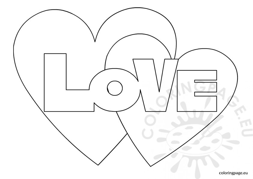 Free printable valentine hearts template hot girls wallpaper for Love heart coloring pages