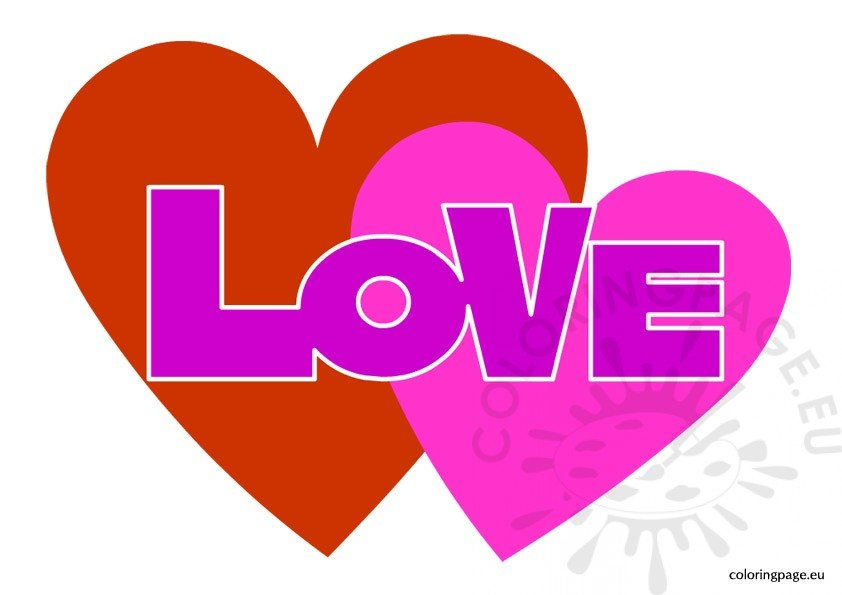 Love hearts clipart