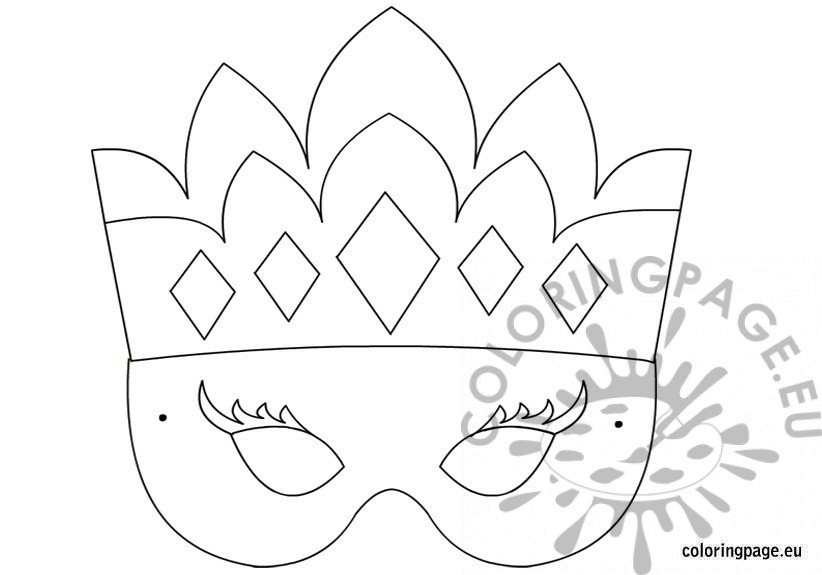 princess-mask-template