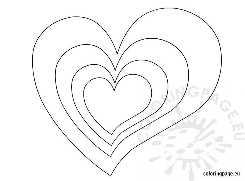 hearts-shape
