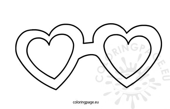 Sunglasses Clip Art For Coloring Coloring Pages