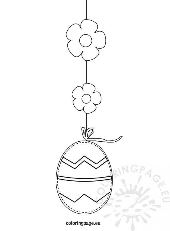 easter clip art coloring pages - photo #26