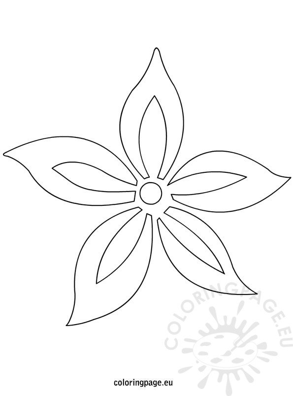 template for flowers