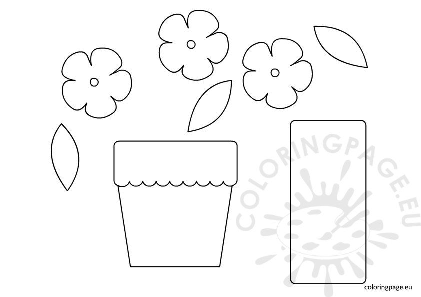 The gallery for --> Flower Pot Cover Template