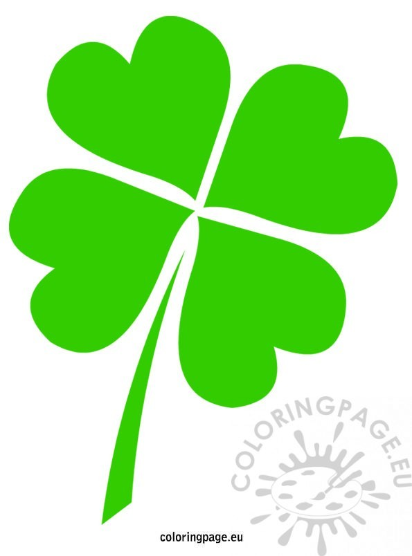saint-patricks-4-leaf-clover-template