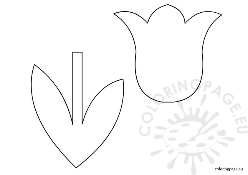 tulip-template-for-kids