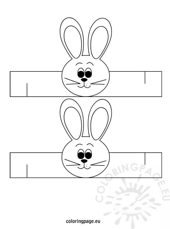 easter-bunny-napkin-ring-template