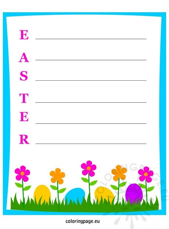 easter-writing