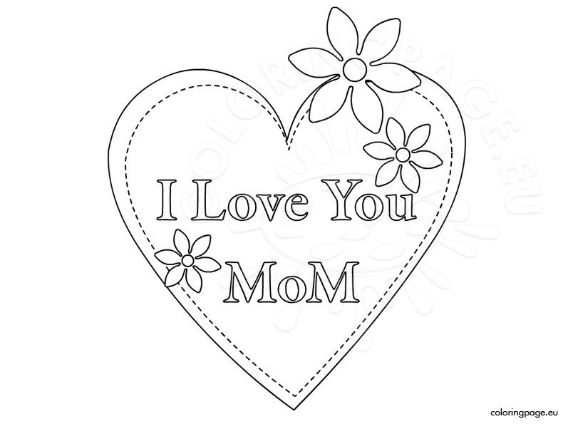 coloring pages i love you mom - mother 39 s day 2015 i love you mom coloring page