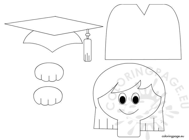 kindergarten graduation ideas coloring page