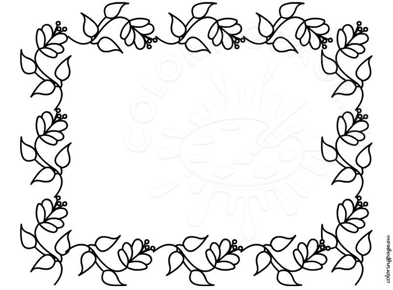 Free Mothers Day Border Paper