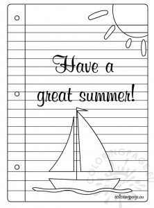 Have a great summer 2